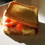 dalejrsandwich - hot sandwich with grilled peppers