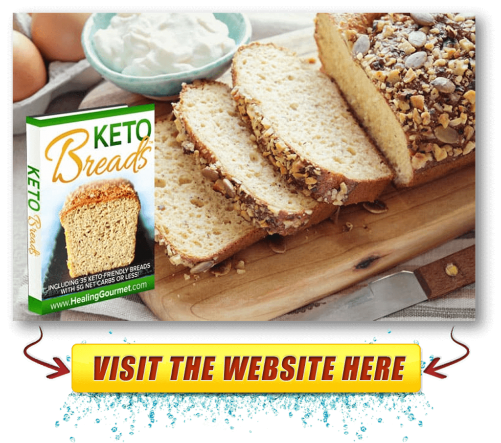 Keto Breads official webpage
